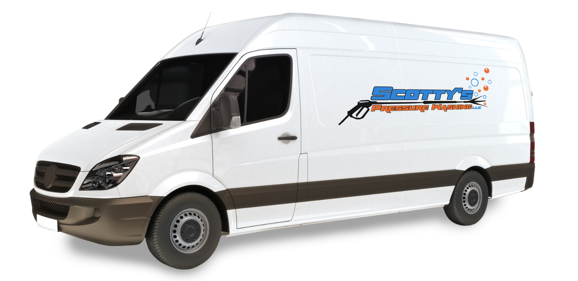 Scottys Pressure Washing LLC Van